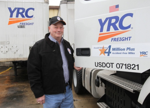 It's no accident how YRC trucker Don Robinson drove millions of miles